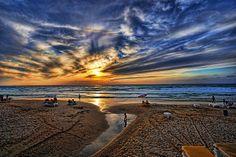 Tel Aviv, Israel http://fineartamerica.com/featured/evening-city-lights-ron-shoshani.html