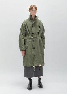 Shop Outerwear & Jackets on La Garconne, an online fashion retailer specializing in the elegantly understated. Heavy Jacket, Minimal Fashion, Military Fashion, Coats For Women, Outerwear Jackets, Military Jacket, Women Wear, Fashion Design, Fashion Trends