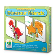 Amazon.com: The Learning Journey My First Match It! - Dinosaurs: Toys & Games