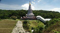 The Queen's Pagoda, Doi Inthanon, Thailand. Statue Of Liberty, Thailand, Queen, Travel, Statue Of Liberty Facts, Viajes, Liberty Statue, Show Queen, Traveling