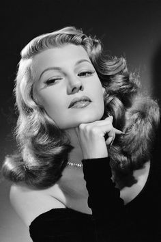 25 photos of Rita Hayworth's signature style: