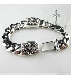 Chrome Hearts 2013 Cross Link Bracelet On Sale