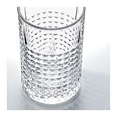 IKEA - FRASERA, Glass, The glass has a simple tall and straight shape which makes it perfect for all types of cold drinks, such as carbonated cocktails with a lot of ice. Recycling Facility, Balsamic Beef, Best Oatmeal, Types Of Food, Vegan Recipes Easy, Food Items, Potpourri, Cold Drinks, Crock