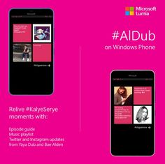 #AlDub App for Windows Phone Offers #KiligPaMore Updates