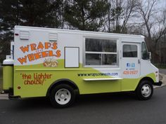 Wraps on Wheels food truck serving up yummy wraps in Rochester, New York. Learn more about starting a food truck in the city at the blog post.