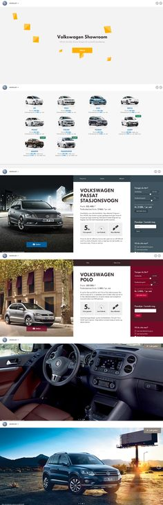 Discover the Volkswagen range in a fluid layout website. Compare prices, cars gallery, calculate loan and order your test drive. Web Design Awards, Homepage Design, Web Ui Design, Best Web Design, Web Design Trends, Site Design, Volkswagen Showroom, Web Design Examples, Web Dashboard