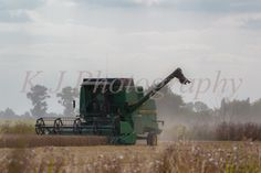John Deere 1177 Combine Harvester images, UK agriculture