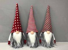 Christmas Gnome Handmade gnomes Holiday gifts cute | Etsy Christmas Mesh Wreaths, Christmas Gnome, Handmade Christmas, Christmas Tree Decorations, Christmas Crafts, Grinch Decorations, Christmas Bowl, Christmas Ornament, Christmas Signs