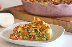 Tarte aux légumes et chèvre WW, recette d'une savoureuse tarte salée légère à base de bons légumes, facile et simple à réaliser à servir en entrée ou en plat principal.