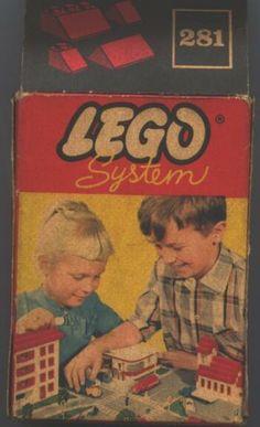 Deze kleine doosjes Lego mocht ik af en toe in de speelgoedwinkel bij ons kopen.