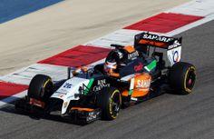 Sakhir, test day 1: Hulk vola, Vettel arranca