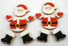 Resultado de imagem para decorated christmas cookies