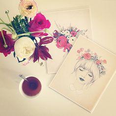 Flowers & drawings