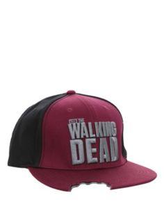 The Walking Dead Bitten Snapback Ball Cap Roupas Geek aca6df6a474