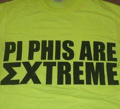 Pi Beta Phi- Washington Alpha (University of Washington) shirts for Sigma Chi Derby Days #piphi #pibetaphi