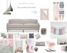 Esquemas de cores infalíveis: Cinza & Rosa | Blush & Grey