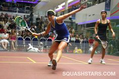 Kasey Brown - Ausralia's #1 women's player and friend of Austin Squash