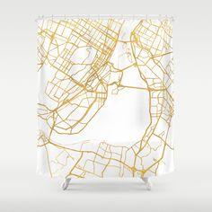 MONTREAL CANADA CITY STREET MAP ART - $68.99