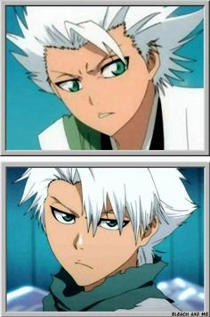 Toshiro Hitsugaya!!!!!! <3 asdfghjkl;' I gotta face the fact that I love to much characters TuT (I prefer less bangs on him though <3 -w-)