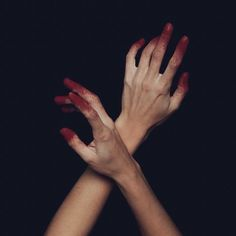 Dancing in the dark, dancing in pure blood, with your heart eating my soul and my body turning crimson. Red Aesthetic, Character Aesthetic, Aesthetic Pictures, Hand Drawing Reference, Pose Reference, Aya Takano, Le Cri, Hand Photography, Poses
