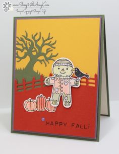 Cookie Cutter Halloween - Stamp With Amy K