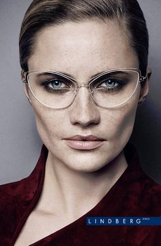 The latest release of remarkable eyewear designs from Scandinavian brand Lindberg is now rolling towards leading opticians. According to Lindberg style experts, the subtle trend distinctions lie in the way … Womens Designer Glasses, Womens Glasses, New Glasses, Cat Eye Glasses, Eye Trends, Fashion Eye Glasses, Face Fashion, Designer Eyeglasses, Optical Frames
