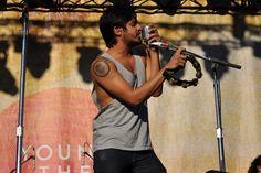Sameer Gadhia of Young the Giant @ Music Midtown (Piedmont Park) in Atlanta, GA on September 24, 2011.