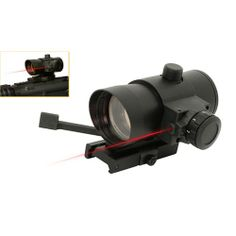 NcStar 1x40 Red Dot Sight W/ Built in Red Laser - DLB140R. Available at Ultimate Paintball!  http://www.ultimatepaintball.com/p-5434-ncstar-1x40-red-dot-sight-w-built-in-red-laser-dlb140r.aspx