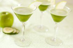St. Patrick's Day non-alcohol juice recipe.