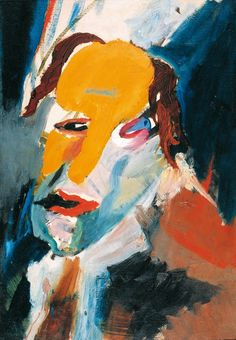 Hans Richter Visionary Portrait, [Oil on Canvas] Dadaism Art, L'art Du Portrait, Portraits, Dada Artists, Hans Richter, Figurative Kunst, Artist And Craftsman, Art Thou, Expositions