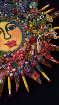 The Fantastic Bead Mosaics SUN Series  Great BIG SUN
