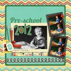 preschooler 2012 - Scrapbook.com