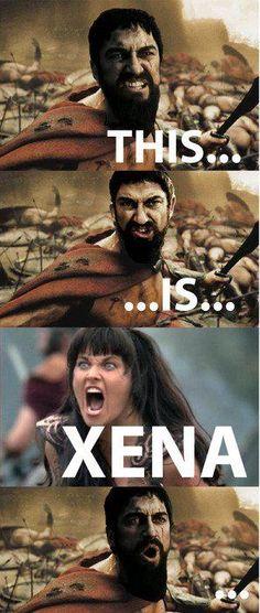 So glad that I grew up with Xena, Warrior Princess. :P