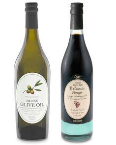 Williams-Sonoma House Olive Oil & 25-Year Barrel-Aged Balsamic Vinegar, Set of 2 #williamssonoma