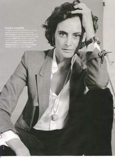 "Ines de la Fressange: ""it's always better to buy one pair of shoes that are too expensive than five compromises."""