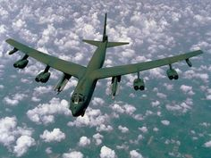 The B-52H Stratofortress: current intention is to keep the B-52, perhaps the most successful airplane ever designed, flying until 2045 for a 90 year life cycle.