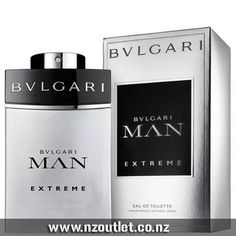 #Bvlgari Man Extreme EDT   #Perfume for men Main Accords: Citrus, Aromatic, Warm Spicy, Woody, Fresh Spicy Top Notes: Pink Grapefruit, Calabrian Bergamot, Cactus Juice Mid Notes: Freesia, Guatemalan Cardamom, Amber Base Notes: Benzoin, Haitian Vetiver, Woodsy Notes http://nzoutlet.co.nz/product/product_details/Man-Extreme-By-Bvlgari-EDT-