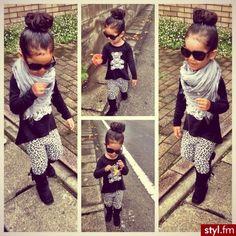 Toddler girl fashion. So cute