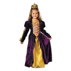 Regal Queen Halloween Costume for Toddler - Medium
