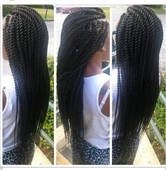 Jumbo rope twists