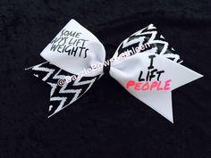 Big Cheer Bows, Custom Cheer Bows, Cheerleading Bows, Cheer Stunts, Cheer Base, Basketball Cheers, College Cheer, Cute Bows, Hair Bows