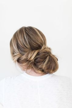 Relaxed Twisted Updo: http://www.stylemepretty.com/living/2015/06/03/summer-hair-playbook/