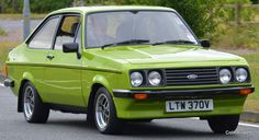 Classic Fords For Sale, Classic Cars British, Ford Classic Cars, Retro Cars, Vintage Cars, Antique Cars, Escort Mk1, Ford Escort, Rocking Chair Plans