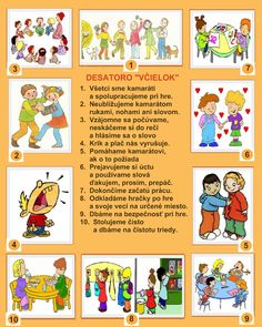 pravidlá triedy - Hľadať Googlom Diy For Kids, Crafts For Kids, Preschool Education, Indoor Activities For Kids, Plate, Montessori, Back To School, Diy And Crafts, Kindergarten