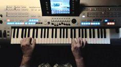 DU - Peter Maffay  Instrumentalcover auf Yamaha Tyros 4