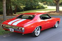 1972 CHEVROLET CHEVELLE Custom Muscle Cars, Chevy Muscle Cars, Sexy Cars, Hot Cars, Chevy Chevelle Ss, Old School Cars, American Muscle Cars, Luxury Cars, Vintage Cars