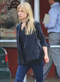 Clemence Poesy Photos Photos - Clemence Poesy Running Some Errands In New York - Zimbio