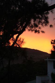 Baguio City sunset