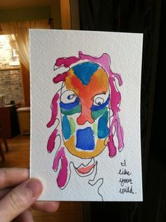 Blind contour drawings by Jessie Winslow