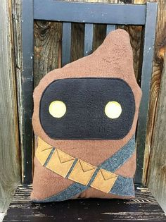 Jawa, star wars, pillow, cushion, present.  Learn more by checking out the photo link